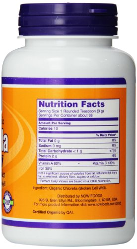 Now Foods Chlorella Pure Powder 4 Ounce Buy Online In