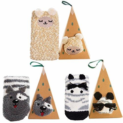 3-Pairs-Fuzzy-Women-Socks-Fleece-Casual-Socks-Christmas-Socks-for-Girls-and-Ladies