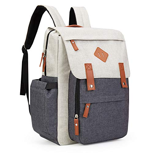 Diaper Bag Backpack,Laymant Multi-Function Travel Backpack Nappy Bags Waterproof Large Capacity Stylish and Durable