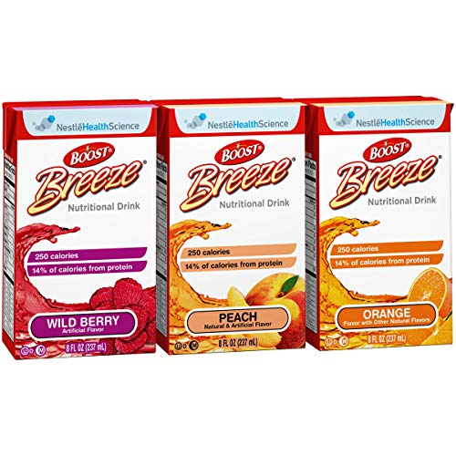 Boost Breeze Variety Flavor 8 oz. Carton Ready to Use, 10043900186006 – Each