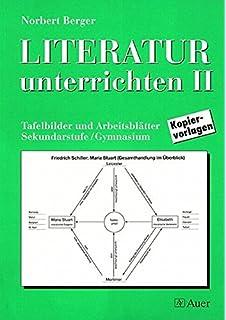 Literatur unterrichten, Bd.1, Tafelbilder und Arbeitsblätter: Amazon ...