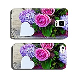 Spring Bouquet with Heart, Copy Space cell phone cover case iPhone6