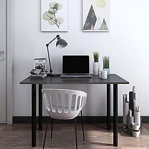 Lifewit escritorio mesa para ordenador trabajo port til for Mesa ordenador amazon