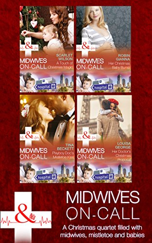 book cover of Midwives On-Call At Christmas