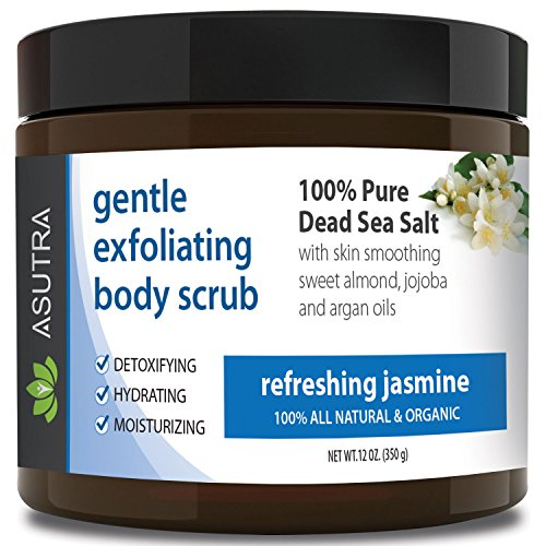 Best ORGANIC Exfoliating Body Scrub -