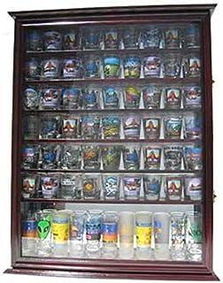 Amazon.com: Wall Mounted Curio Cabinet / Sports Shot Glass Display ...