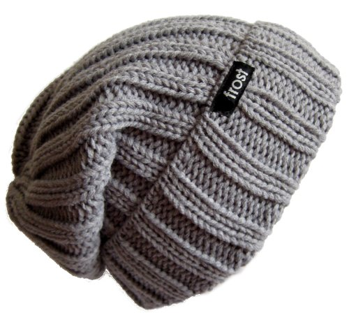 Frost Hats Winter Hat for Women Slouchy Beanie Hat Knitted Crystal Winter Hat M-80