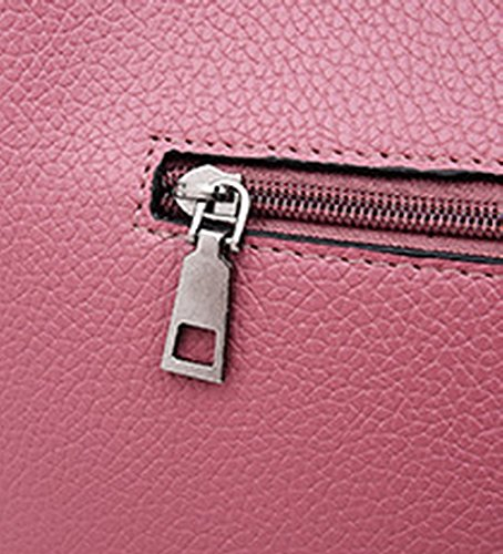 Zippers Bandoulière Nylon à Quotidienne Femme La Tourisme AalarDom Vie Rose Sacs 4PwX5xnq