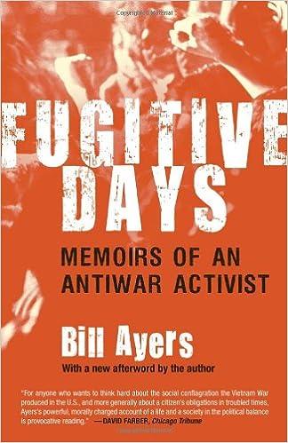 Book Fugitive Days: Memoirs of an Antiwar Activist