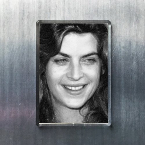 Seasons Kirstie Alley - Original Art Fridge Magnet #js002