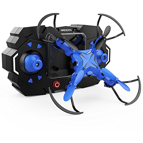 DROCON Scouter Foldable Mini RC drone for kids with Altitude Hold Mode,...