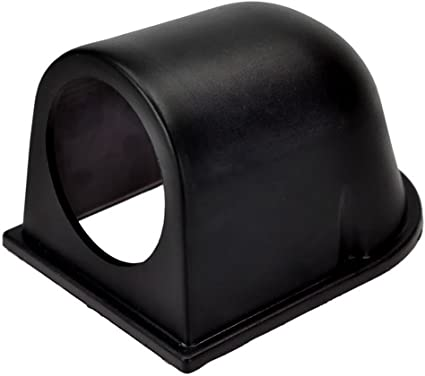 52mm 2-1//16 Swivels 360 Degrees Fits Any Make//Model Mounts 3 Gauges to Vehicles Dash GlowShift Universal Black Triple Gauge Swivel Dashboard Pod ABS Plastic