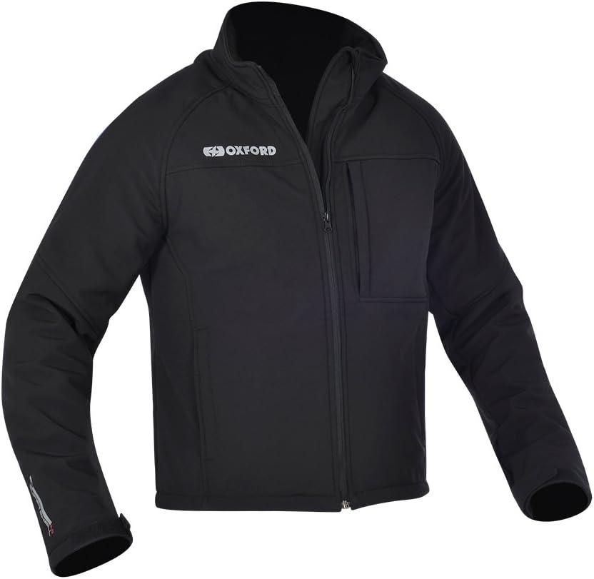 OXFORD Soft Shell Motorbike Motorcycle Jacket MS Black Corporate
