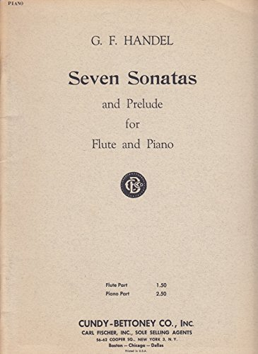 Seven Sonatas and Prelude for Flute and Piano