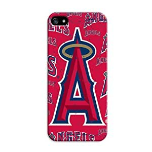 iphone 5c Protective Case,Good-Looking Baseball iphone 5c Case/Los Angeles Angels Designed iphone 5c Hard Case/Mlb Hard Case Cover Skin for iphone 5c