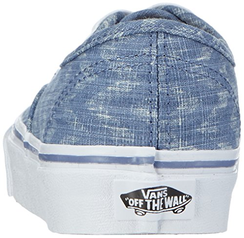 VansU AUTHENTIC DENIM CHEVRON - Zapatillas Unisex adulto azul - Blau ((Denim Chevron) blue/true white)