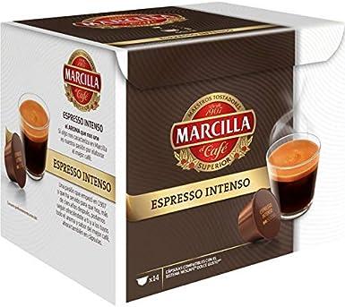 Marcilla Espresso Intenso Cápsulas de café - 3 paquetes x 14 cápsulas - Total: 42 cápsulas: Amazon.es: Alimentación y bebidas