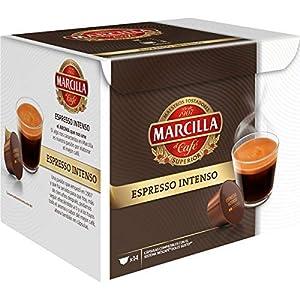 Marcilla Espresso Intenso Cápsulas de café – 3 paquetes x 14 cápsulas – Total: 42 cápsulas 51A0xJh8HfL