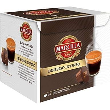 Marcilla Espresso Intenso Cápsulas de café - 3 paquetes x 14 ...