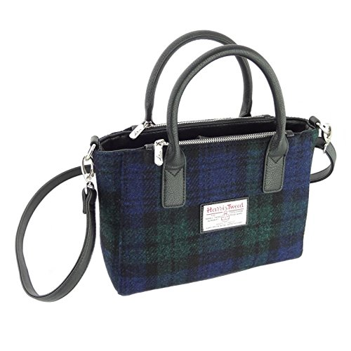 60 Tweed Brora LB1228 Small In Harris Various Colours Strap Bag Ladies Col With Tote Shoulder Hq16n5w