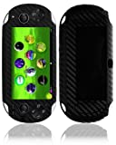 Sony Playstation Vita Wifi Screen Protector + Carbon Fiber Full Body, Skinomi TechSkin Carbon Fiber Skin for Sony Playstation Vita Wifi with Anti-Bubble Clear Film Screen