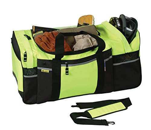 Safety Depot Turnout Gear Bag High Visibility with Removable Strap by Safety Depot (Image #1)
