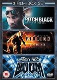 Pitch Black/Doom/Chronicles of Riddick [Import anglais]