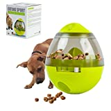 Interactive Dog Toy, Pets Treat Dispensing Ball for Dog Cat Feeding, IQ Training, Playing, Chewing, Non-Toxic and Durable Dog Food Dispensing Toy