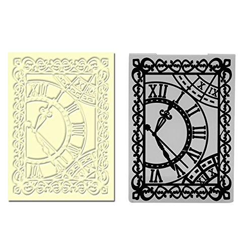 Kunststoff Prägeschablone Vorlage für Scrapbook DIY Album Karte Werkzeug Kunststoff Vorlage Stempel Karte machen Dekoration