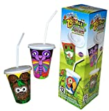 Hefty Zoo Pals Cups Rainforest Collection Cups, Lids & Bendy Straws