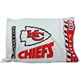 NFL Kansas City Chiefs Micro Fiber Pillow Case Logo