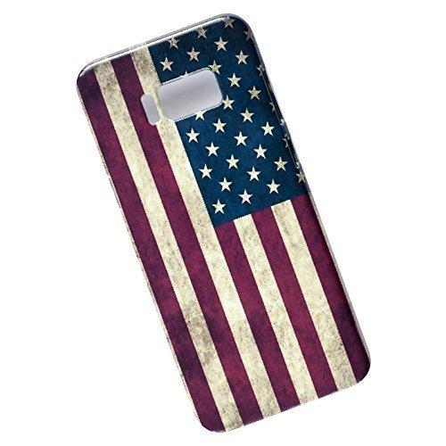 Slim Case for Samsung Galaxy S8 Plus. USA Flag.