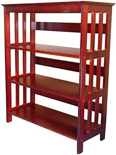 3 TIER BOOK SHELVES CHERRY