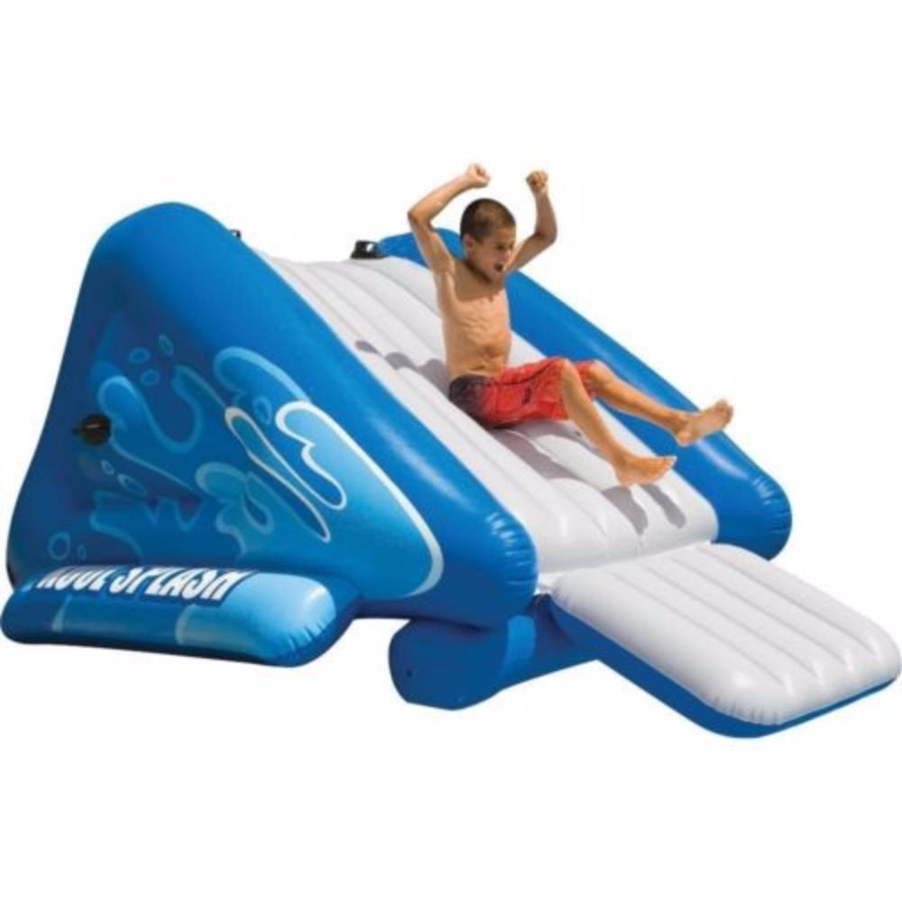 amazon com intex kool splash inflatable swimming pool water slide
