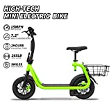 NHT Electric Bikes/Bicycle Foldable Bike Fat Tire Electric Bicycle Lithium Battery Platinum E-bike with Basket