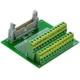 CZH-LABS IDC-26 Male Header Connector Breakout Board Module, IDC Pitch 0.1'', Terminal Block Pitch 0.2''