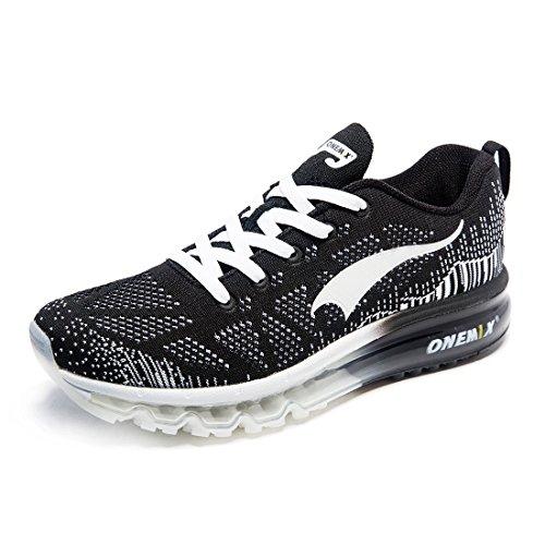 Sneaker da Basse ONEMIX Ginnastica Nero Scarpe Air Sportive Uomo Running nTw1CqU16x
