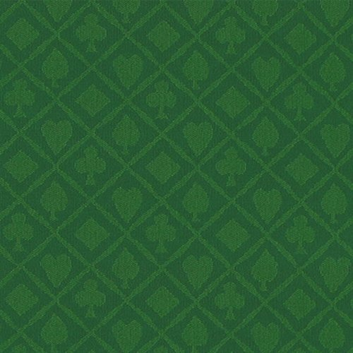 Brybelly 10' Section of Green Cotton Speed Cloth (Cloth Poker Speed)