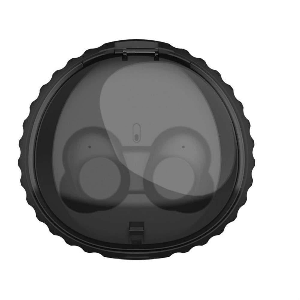TWS ワイヤレスBluetoothヘッドセット ミニイヤホン 漫画の外観 Bluetooth 4.2 自動マッチングHi-Fi充電ボックス マイク付き 通話用 Siri防水 ノイズリダクションヘッドホン   B07MW3JYNZ