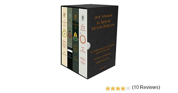 Pack El Señor de los Anillos. Edición 60 aniversario Biblioteca J. R. R. Tolkien: Amazon.es: Tolkien, J. R. R., Hammond, Wayne G., Scull, Christina, Horne, Matilde, Domènech, Luis, Masera, Rubén, Saitó, Simón,