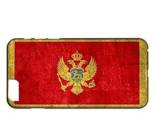 Funda Carcasa para iPhone 6 Plus & 6S Plus Bandera MONTENEGRO 01