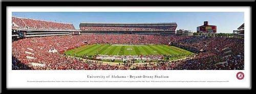 Campus Images University of Alabama, Tuscaloosa Framed Stadium Print Frame