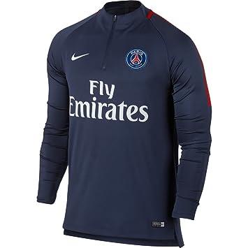competitive price 9750c aa792 Nike Paris Saint-Germain Dry Squad Drill Shirt  Amazon.co.uk  Sports    Outdoors