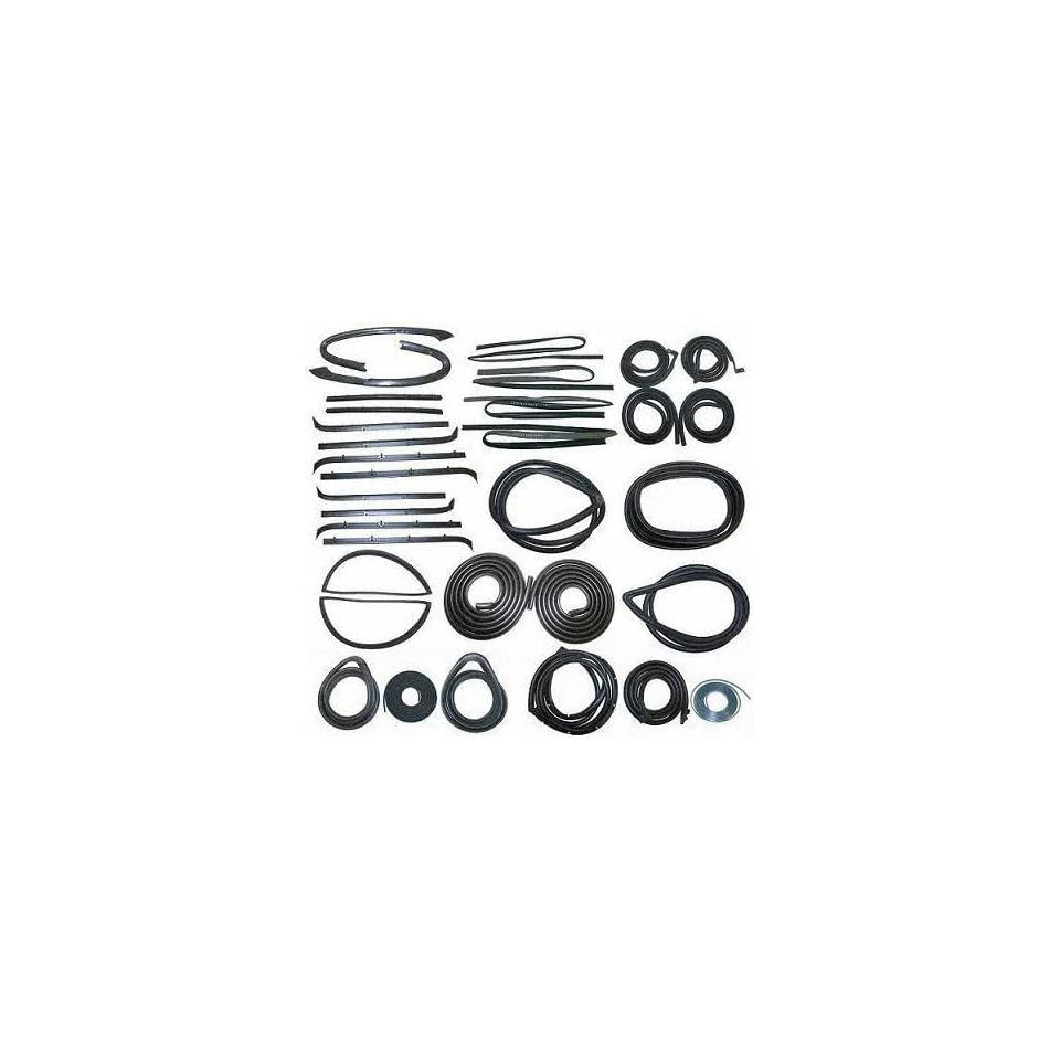 81 85 CHEVY CHEVROLET SUBURBAN WEATHERSTRIP KIT SUV, (includes Windshield Seal, Seal Lockstrip for use on Models w/ black and Chrome Trim, Door Cab, Upper Front & Rear Passenger Doors, Glass Run Chan