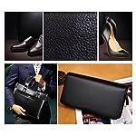 make it funwan Kit pour Cirage de Chaussures avec étui élégant en cuir PU, Kit pour cirage de chaussures de voyage 7… 10