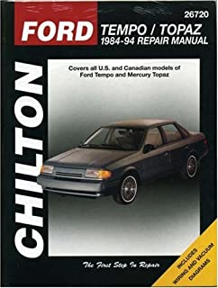 ford tempo mercury topaz 84 94 haynes repair manuals haynes rh amazon com 1990 Ford Tempo GL Hooked Up 1990 Ford Tempo GL Speed