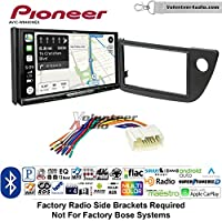Volunteer Audio Pioneer AVIC-W8400NEX Double Din Radio Install Kit with Navigation, Apple CarPlay and Android Auto Fits 2002-2006 Acura RSX