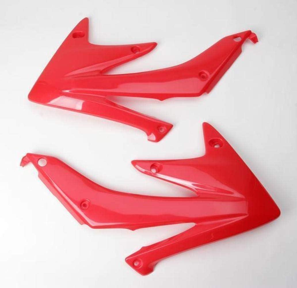FOR HONDA SHROUD RAD CRF450 05 WHITE UFO HO03655-041 Replacement Plastic