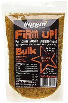 Diggin' Your Dog 1 Piece Firm Up Pumpkin Bulk Super Supplement, 16 oz from Diggin' Your Dog