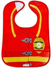 Easy Wipe Bib (Fireman Easy Wipe Bib)